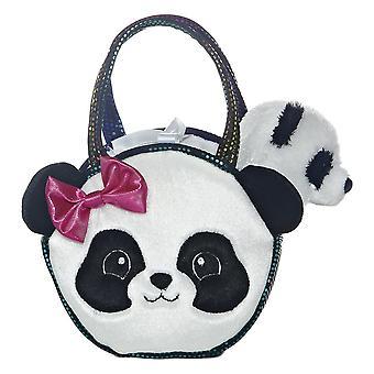 """Pretty Panda Fancy Pal Pet Carrier 8"""" Plush by Aurora - 32605"""