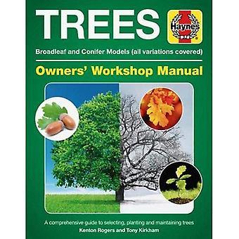 Arbres atelier manuel: Feuillus et conifères modèles (toutes les variantes couvertes) * un Guide complet de sélection, de plantation et d'entretien des arbres (manuels Haynes)