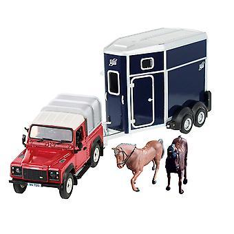 Britains Land Rover häst Set