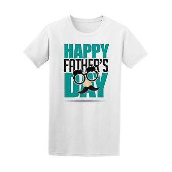 Heureuse fête des pères masque drôle Tee homme-Image de Shutterstock