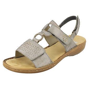 Ladies Rieker Open Toe Sandals 60887