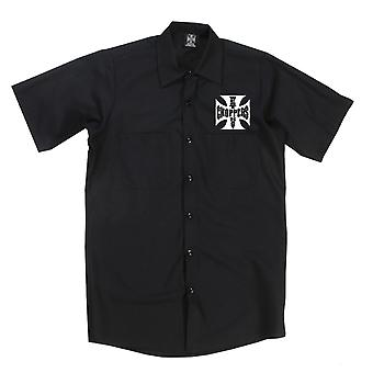 West Coast choppers mens short-sleeved shirt OG