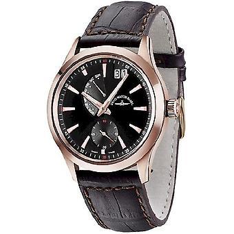 Zeno-horloge mens watch gentleman kwarts 6662-7004Q-PGR-f1