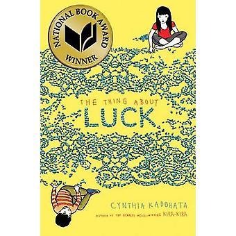 Thing about Luck by Cynthia Kadohata - Julia Kuo - 9781416918820 Book