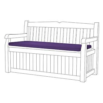 Purple Water Resistant Bench Pad Cushion for Iceni & Eden Storage Bench