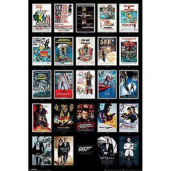 James Bond Poster Movies 220
