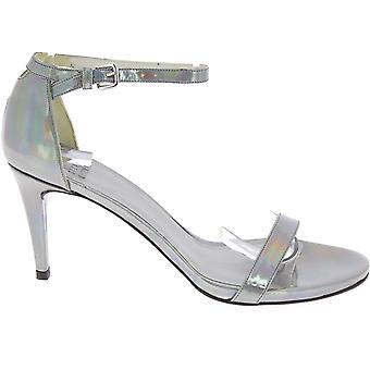 Stuart Weitzman Rl20461 Dames's Zilveren Leer sandalen