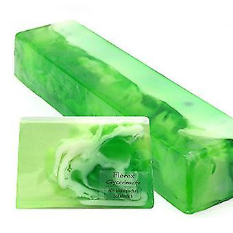 Florex Handmade Glicerin Soap - Orchid - z ekologicznym mlekiem owczym Słodki zapach 90g