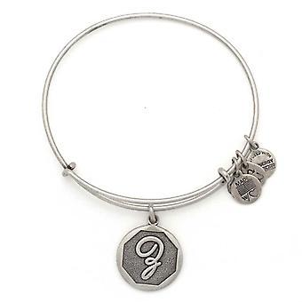 Alex and Ani Initial Z Silver Bangle A13EB14ZS