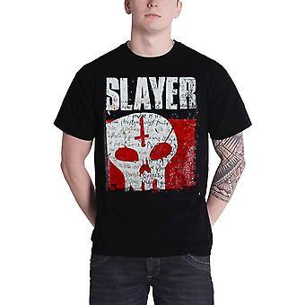 Slayer T Shirt Undisputed Attitude Skull band logo new Official Mens Black Shirt