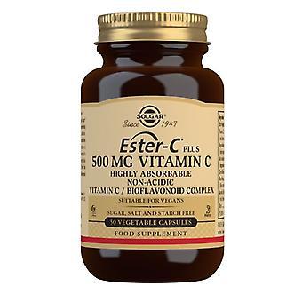 سولغار استر-C بالإضافة إلى فيتامين C 500mg Vegicaps 50 (1038)