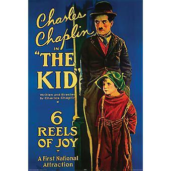 Poster - Studio B - Charlie Chaplin - The Kid 36x24
