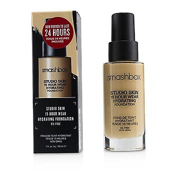 Smashbox Studio Skin 15 tunnin kulumista kosteuttava säätiö-# 2,22 (Light Medium neutraali Olive undertone) 30ml/1oz