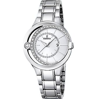 Festina Mademoiselle Quartz Analog Women's Watch with Stainless Steel Bracelet F16947/1