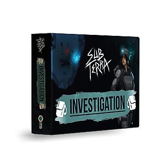 Investigation Sub Terra Expansion For Board Game