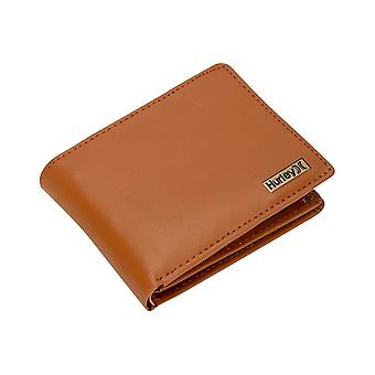 2 Hurley BiFold Leather Wallets ~ One and Only Leather brown