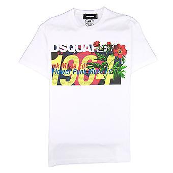 Dsquared2 1964 T-skjorte hvit