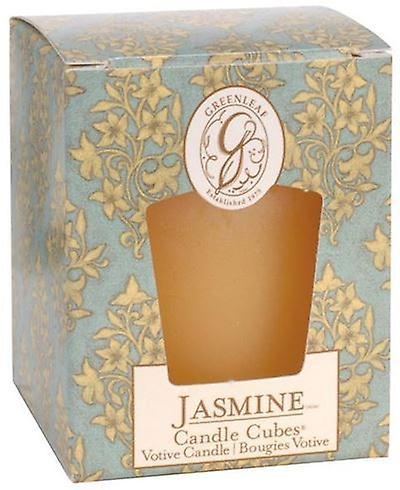 Jasmine Greenleaf Votive Candle