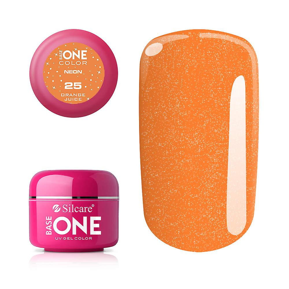 Base en-neon-brenning oransje 5G UV gel
