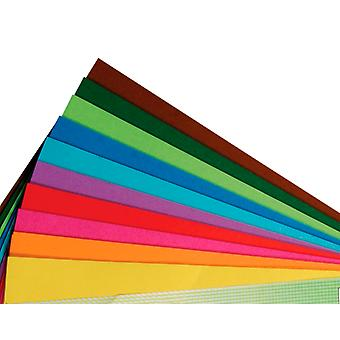 100 Sheets Square Origami Paper - 20cm | Origami Paper Packs
