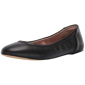 Amazon Brand - 206 Collective Women's Lara Leather Ballet Flat
