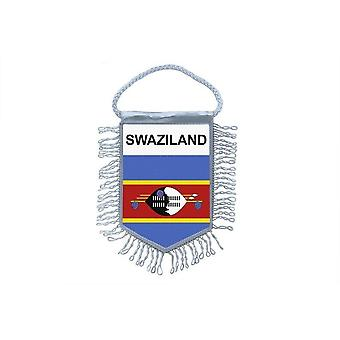 Flag Mini Flag Country Car Decoration Swaziland