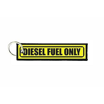 Porte cles aviation keychain voiture carburant diesel fuel only r4