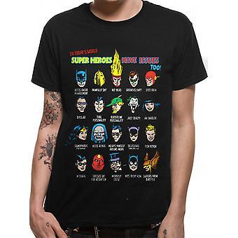 DC Comics Justice League - [R] Superhero Issues T-T-Shirt