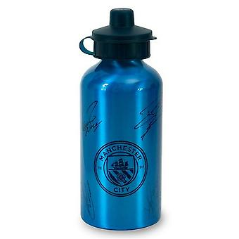 Manchester City FC Signature Aluminium Bottle