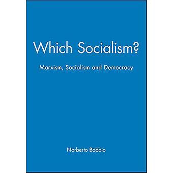 Mikä sosialismi kirjoittanut Norberto Bobbio