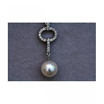 Luna-parels briljante Collier met South Sea Pearl M_S2_AH2