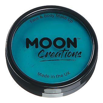 Moon Creations - Pro Face & Body Paint Cake Pots - Teal