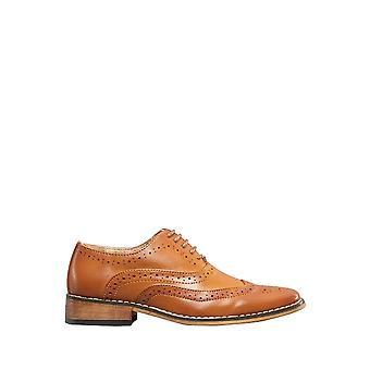 Goor Boys 5 Eyelet Brogue Oxford Shoes