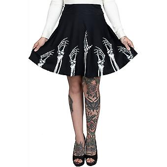 Too Fast Hands Up & Skirts Down Skater Skirt