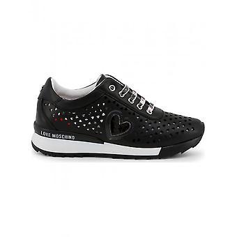 Love Moschino - Schuhe - Sneakers - JA15082G17IA_0000 - Damen - Schwartz - 41