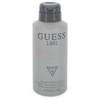 Guess 1981 By Guess Body Spray 5 Oz (men) V728-547817