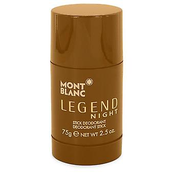 Montblanc Legend Night Deodorant Stick Von Mont Blanc 548269 75 ml
