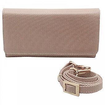 Peter Kaiser Lanelle Box Stil Beige Clutch Handtasche