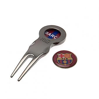 FC Barcelona Official Divot Tool With Marker