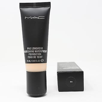 Mac Pro Longwear Waterproof Foundation N18 0.84oz/25ml New In Box
