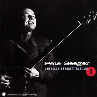 Pete Seeger - Pete Seeger: Vol. 1-amerikanske favoritt ballader [DVD] USA import