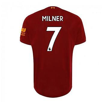 2019-2020 ليفربول لكرة القدم الرئيسية قميص (ميلنر 7)
