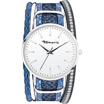 Tamaris - Wristwatch - Women - TW112 - silver, blue