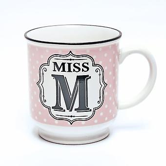 Historia & Heraldry aakkoset muki-Miss M