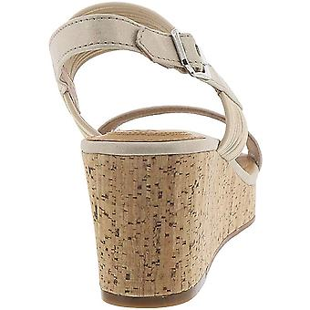 Corso Como Womens Fantazie Strappy Wedges Open Toe Casual Ankle Strap Sandals