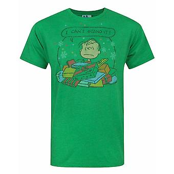 Junk Food Peanuts I Can't Stand It Men's Christmas T-Shirt