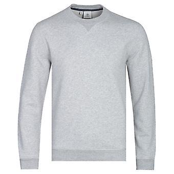Pyrenex Bazin Grey Marl Crew Neck Sweatshirt