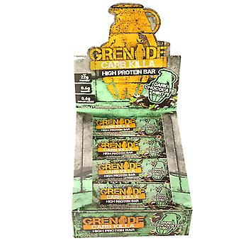 Grenade Box of 12 x 60g Dark Chocolate Mint Carb Killa