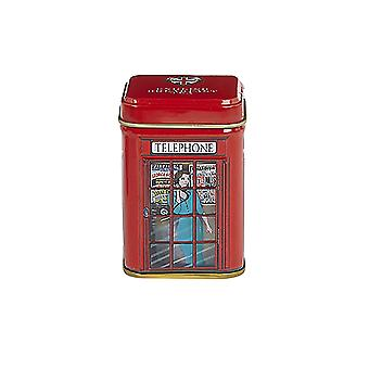 English telephone box loose leaf breakfast tea mini tin 25g