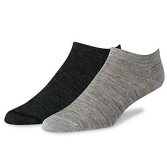 Red Wing Wool Footie Liner - Light Grey and Charcoal